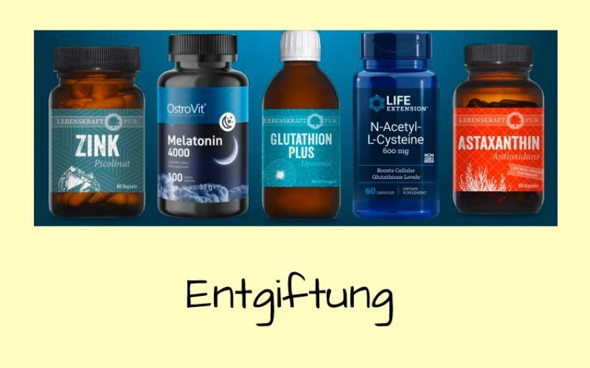 Entgiftung mit Antioxidanten